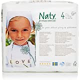 Naty Eco-friendly Baby Diapers Pack Size 4, 7-18 kg, 15-40 lbs, 27 pcs