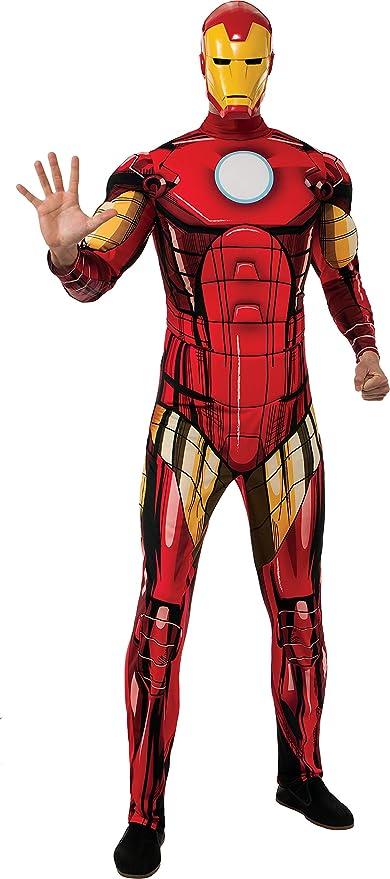 Disfraz de Iron Man Marvel deluxe para adulto: Amazon.es: Ropa y ...