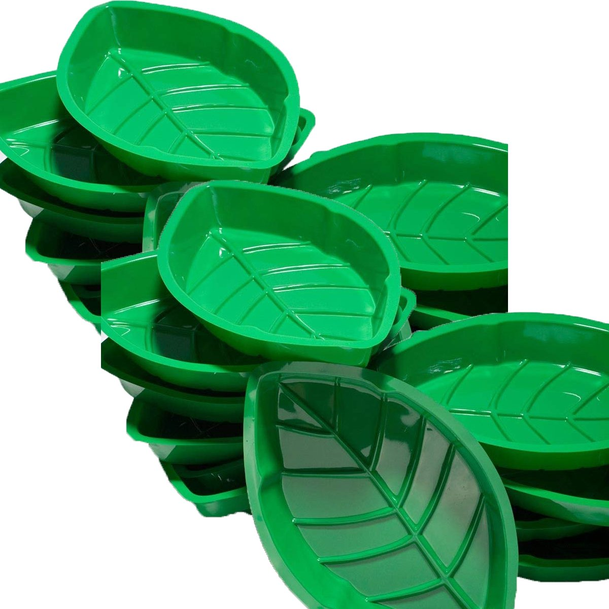 Fun Express Palm Leaf Serving Trays,2 Dozen by Fun Express