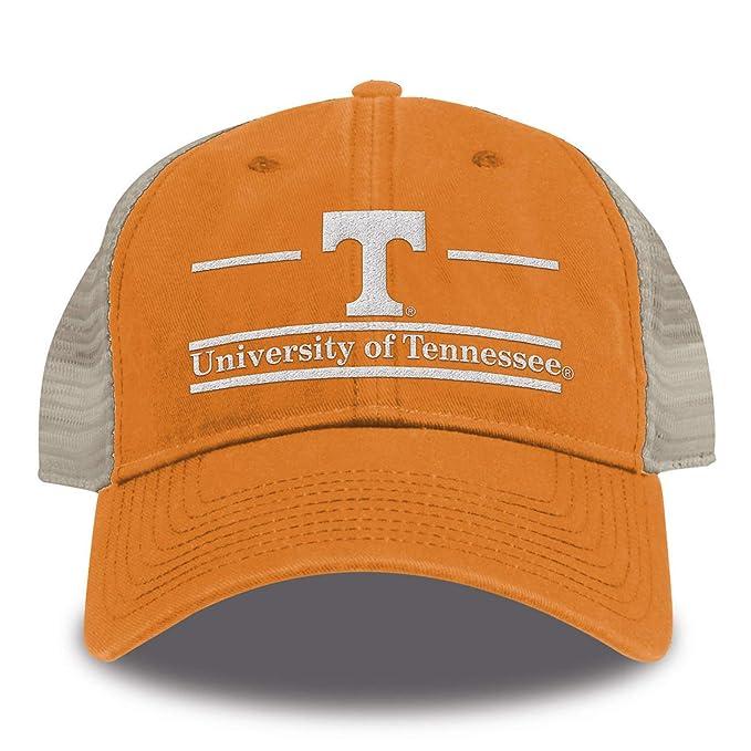 best cheap 483ee 22cd6 Amazon.com   NCAA Tennessee Volunteers Split Bar Design Trucker Mesh Hat,  Orange, Adjustable