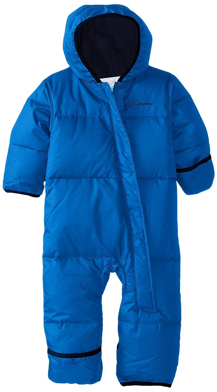 Columbia Mono para bebé , Snuggly Bunny Bunting, Azul (Super Blue, Collegiate Navy), Talla 18/24 Meses 1516331