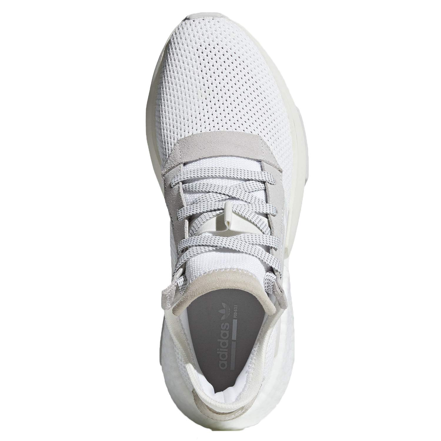 separation shoes e9dd0 bc3b9 Amazon.com | adidas POD S3.1 Mens in White/Grey | Shoes