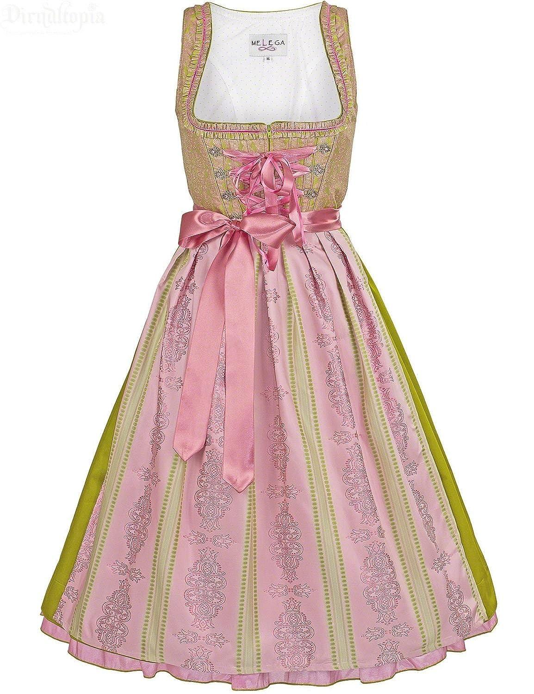 Couture Dirndl Audrey (grün-rosa)
