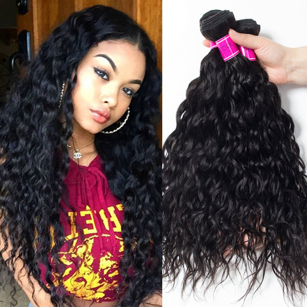 Amazon Recool Water Wave Bundles 8a Virgin Brazilian Hair