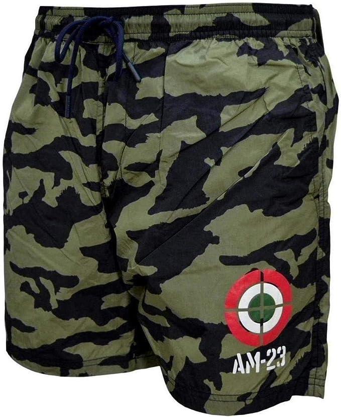Aeronautica Militare - Disfraz de hombre BW190 - Pantalón corto de ...