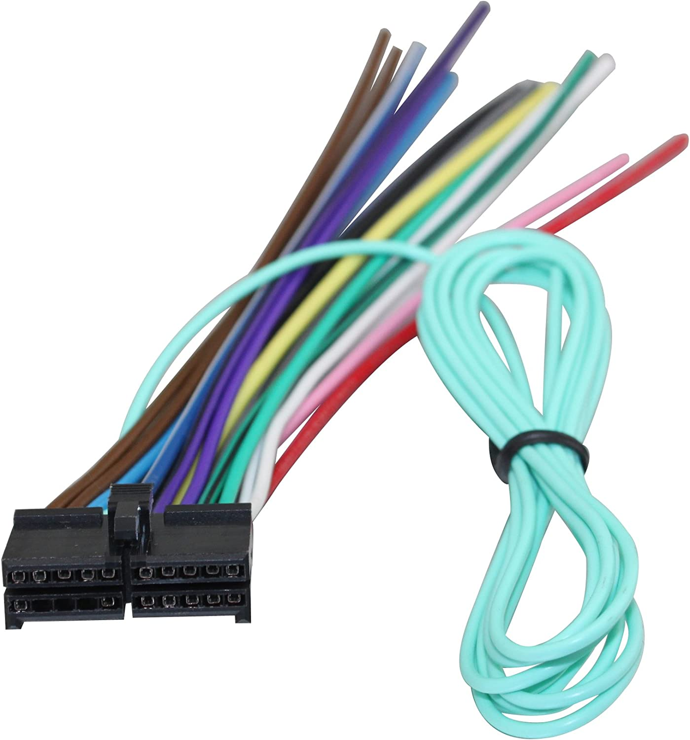 Amazon.com: Wire Harness for Jensen 20 Pin Power Plug CD Player MP3 Radio  DVD Stereo Unit: Car ElectronicsAmazon.com