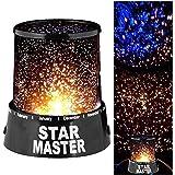 Star Sky Night Romatic Gift Cosmos Master Projector Starry Night Light Lamp, W 37.2 x H 32.6 x L 3.8 cm