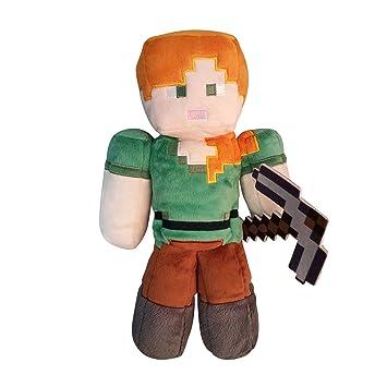 Minecraft - Alex Peluche 30 CM, Multicolor (Jinx JNXMNCR7664)