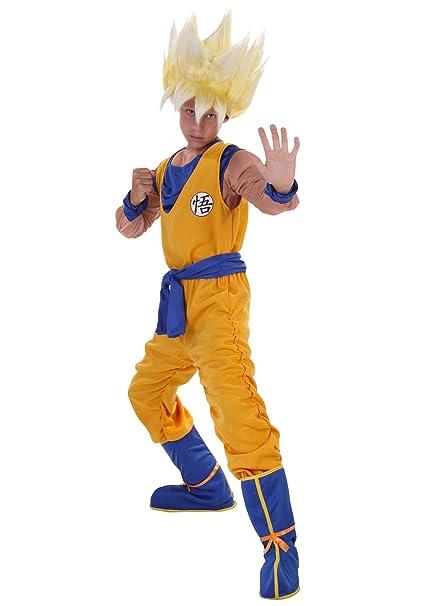 Amazon.com: Dragon Ball Z Child Anime Super Saiyan Goku ...
