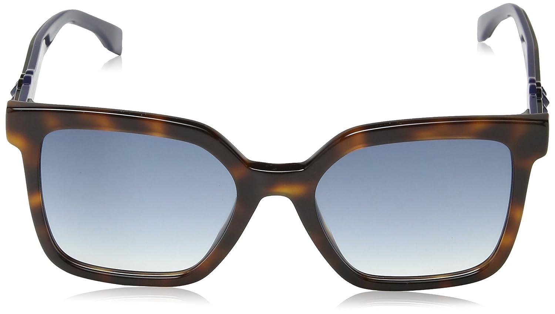 Amazon.com: Fendi FF 0269/S ‑ Dark Havana 0086 Gafas de sol ...