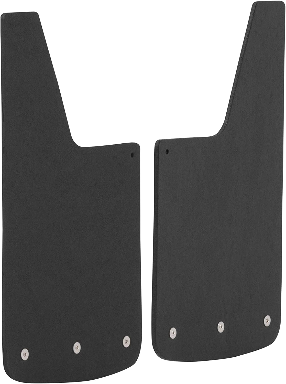 LUVERNE TRK 250936 Front 12 x 23-Inch Textured Rubber Mud Guards Select Ram 1500