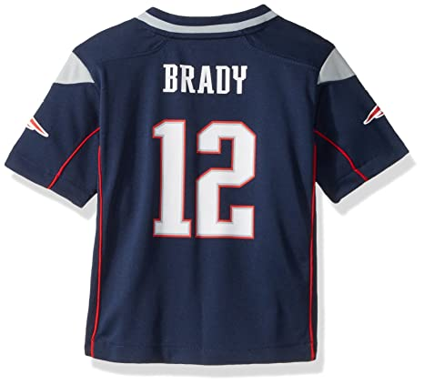 3b82acbe005 Amazon.com   Nike Tom Brady New England Patriots Infant Game Jersey ...