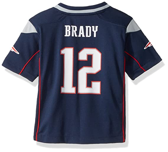 63b7a2864f7 Amazon.com : Nike Tom Brady New England Patriots Infant Game Jersey (24  Month) : Infant And Toddler Sports Fan Apparel : Sports & Outdoors