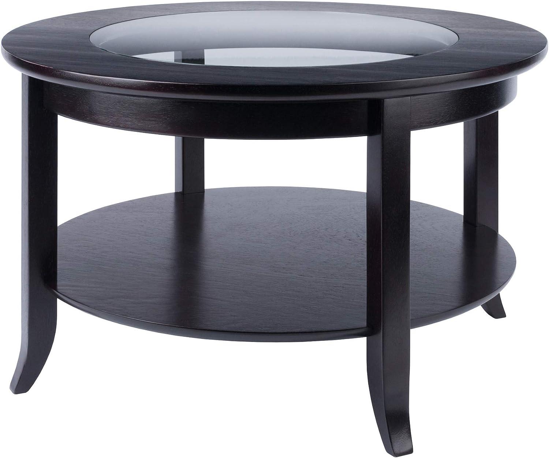 - Amazon.com: Winsome Genoa Coffee Table, Espresso: Kitchen & Dining