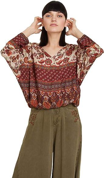 Desigual Blouse Sena Blusas para Mujer: Amazon.es: Ropa y accesorios