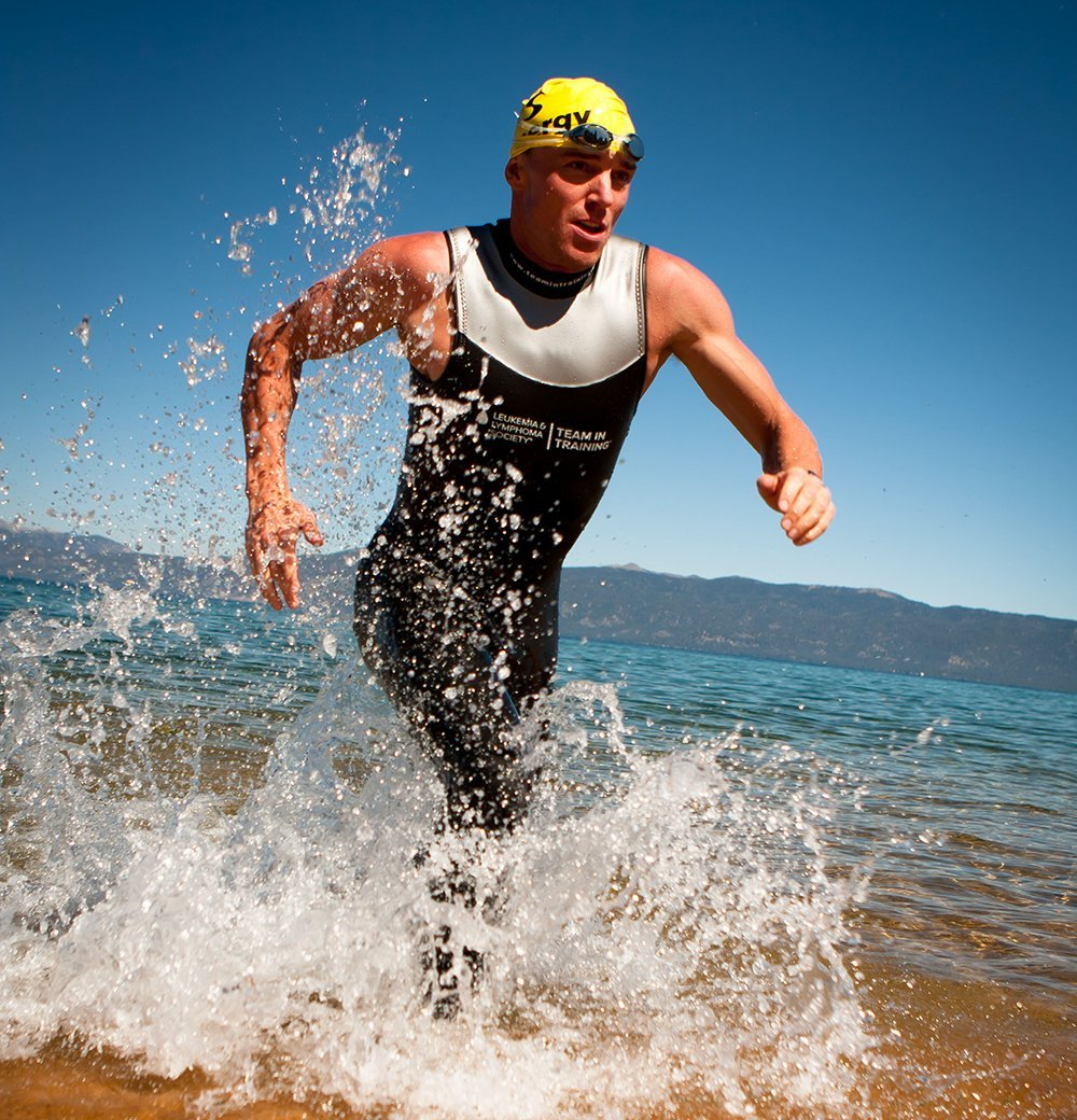 Fit2Race Sleeveless Triathlon Wetsuit Team in Training//F2R Sockeye Unisex