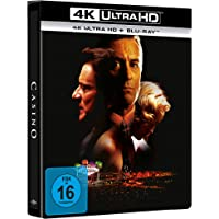 Casino - 4K UHD (Limitiertes Steelbook, exklusiv bei Amazon.de) [2 DVDs]