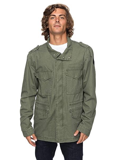 Quiksilver - Chaqueta Militar - Hombre - S - Verde