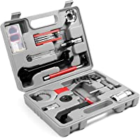 Odoland Bike Repair Tool Kit, 26 in 1 Multi Bicycle Fix Tools Set with Multifunction Tool, Torque Wrench and Tool Box…
