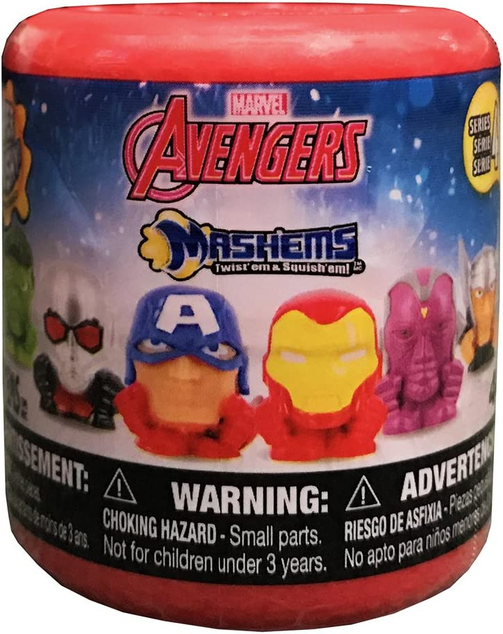 Marvel Mashems Avengers Assemble Squishy Mini Figure PACK [1 ...