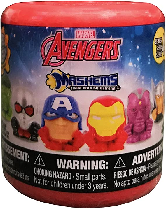 Marvel Mashems Avengers Assemble Squishy Mini Figure PACK [1 Random Figure] by Spider-Man: Amazon.es: Juguetes y juegos