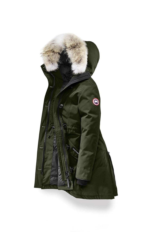 (カナダグース) CANADA GOOSE レディース Rossclair Parka Women's Style # 2580L [並行輸入品] B076P9NHMX S|Military Green Military Green S