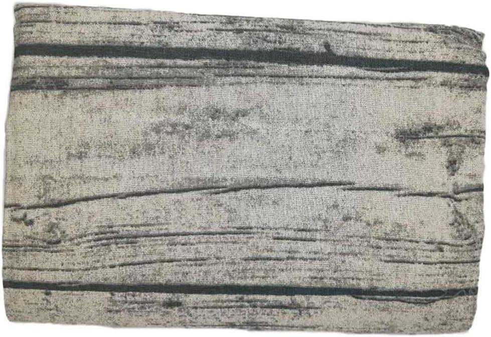 90 x 90 cm BOLANQ Nappe Rectangulaire ,Multicolor Salle /à Manger Nappe R/étro Coton Et Lin Grain De Bois Simulation du Tissu D/écorce 35 x 35 Pouces
