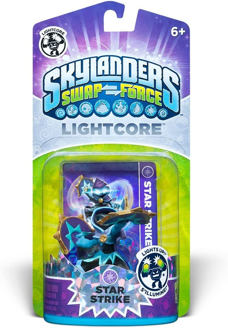 Character Skylanders SWAP Force BLUE SHIP FAST Activision Countdown Variant