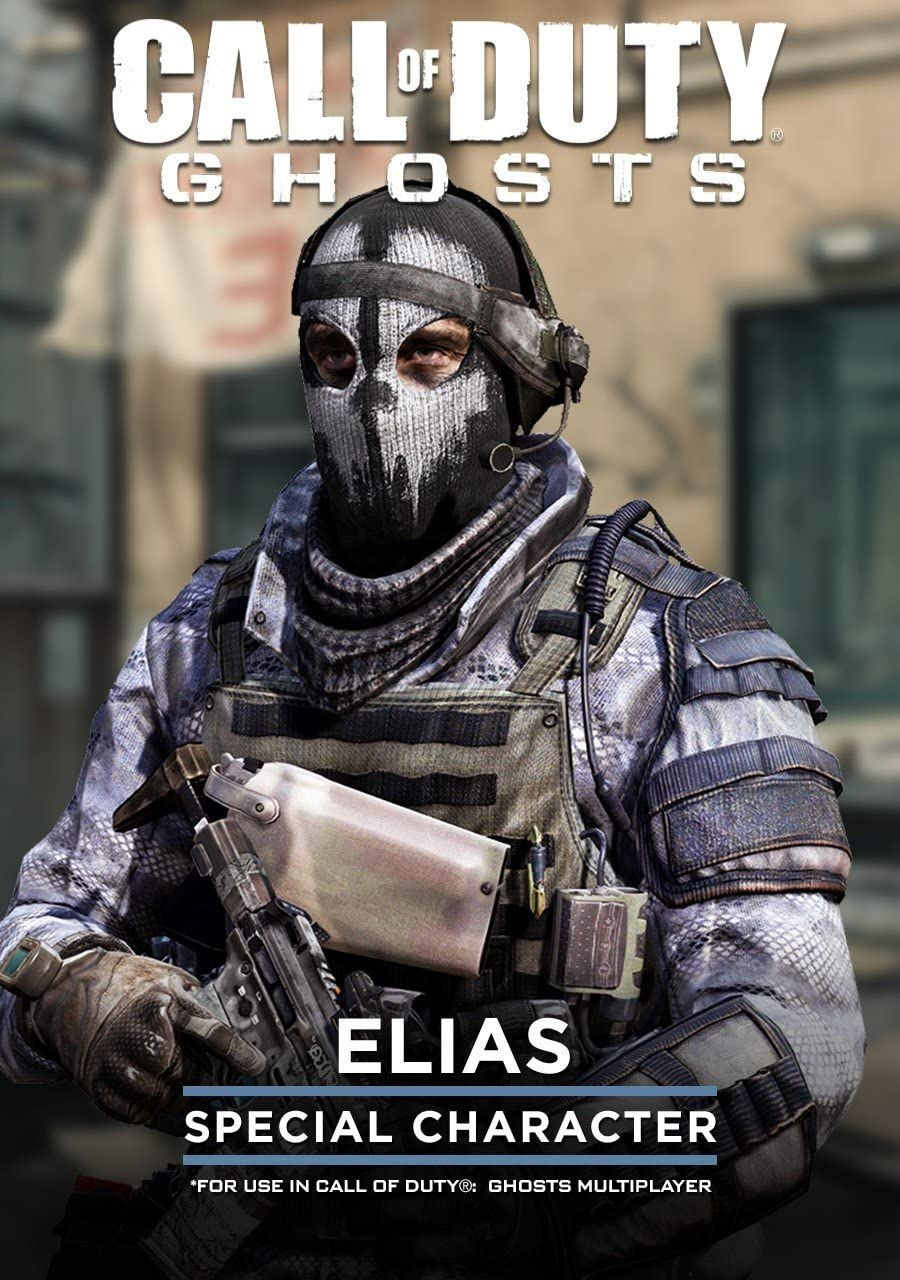 Amazon.com: Call of Duty: Ghost - Elias Special Character [Online ...