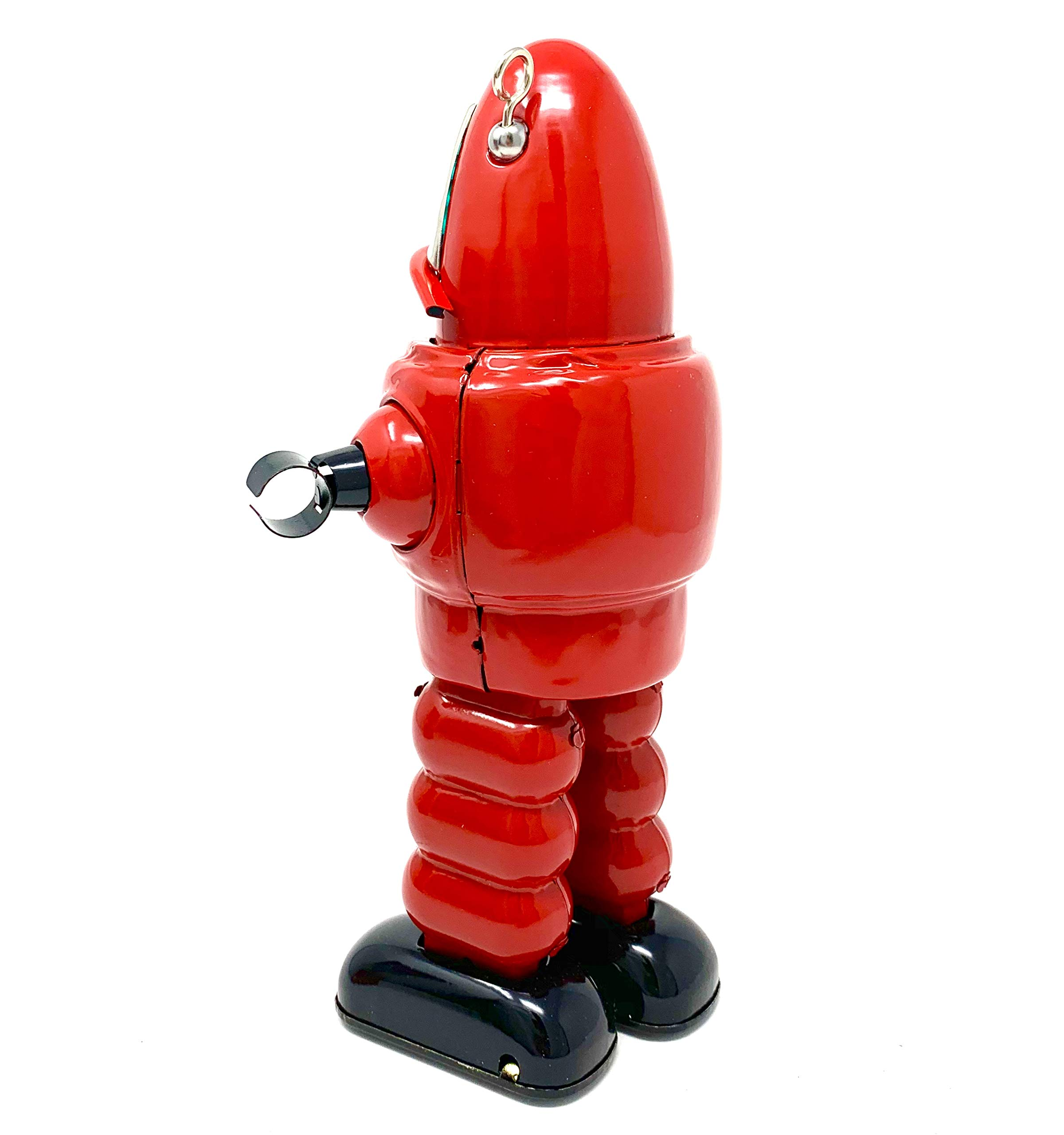 Off the Wall Toys Vintage Style Collectible Wind Up Red Planet Robot Wind Up 8.5'' MS430 by Off the Wall Toys (Image #5)