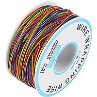 Câble Souple Et Isolant,Rouleau De Câble Electrique - 280M 30Awg 8 Fils