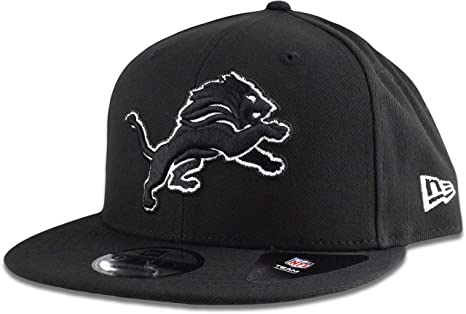 online store 1c681 99c0c Image Unavailable. Image not available for. Color  New ERA NFL Detroit Lions  950 Cap Limited Edition Black ...