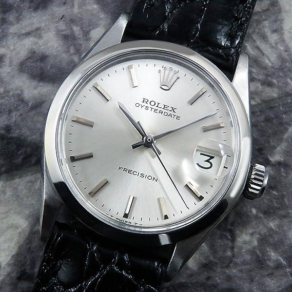 quality design 4179e aebf8 Amazon   ロレックス オイスターデイト ボーイズサイズ Ref.6466 ...