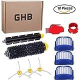 GHB Ersatzteile für iRobot Roomba 600 Serie Wartungskit Reinigungskit für 650 620 651 621 615 616 605 10er Kits