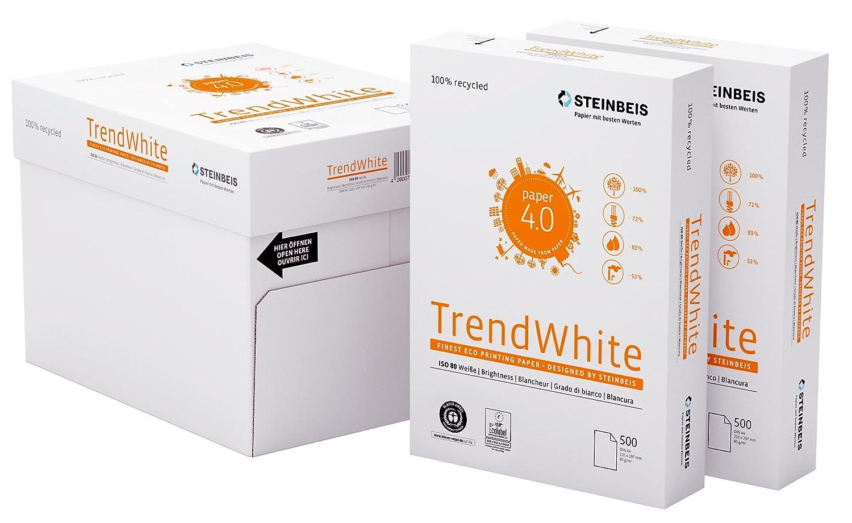 Multifunktionspapier wei/ß 80 g // m/² Steinbeis TrendWhite DIN A4-5 x 500 Blatt