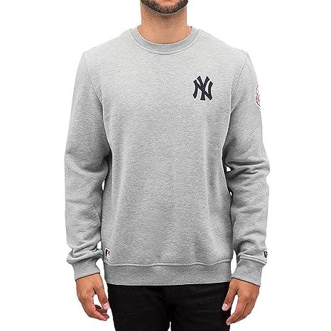 A NEW ERA Era Ne92238Fa16 MLB Crew Neck Neyyan Sudadera-Línea York Yankees, Hombre
