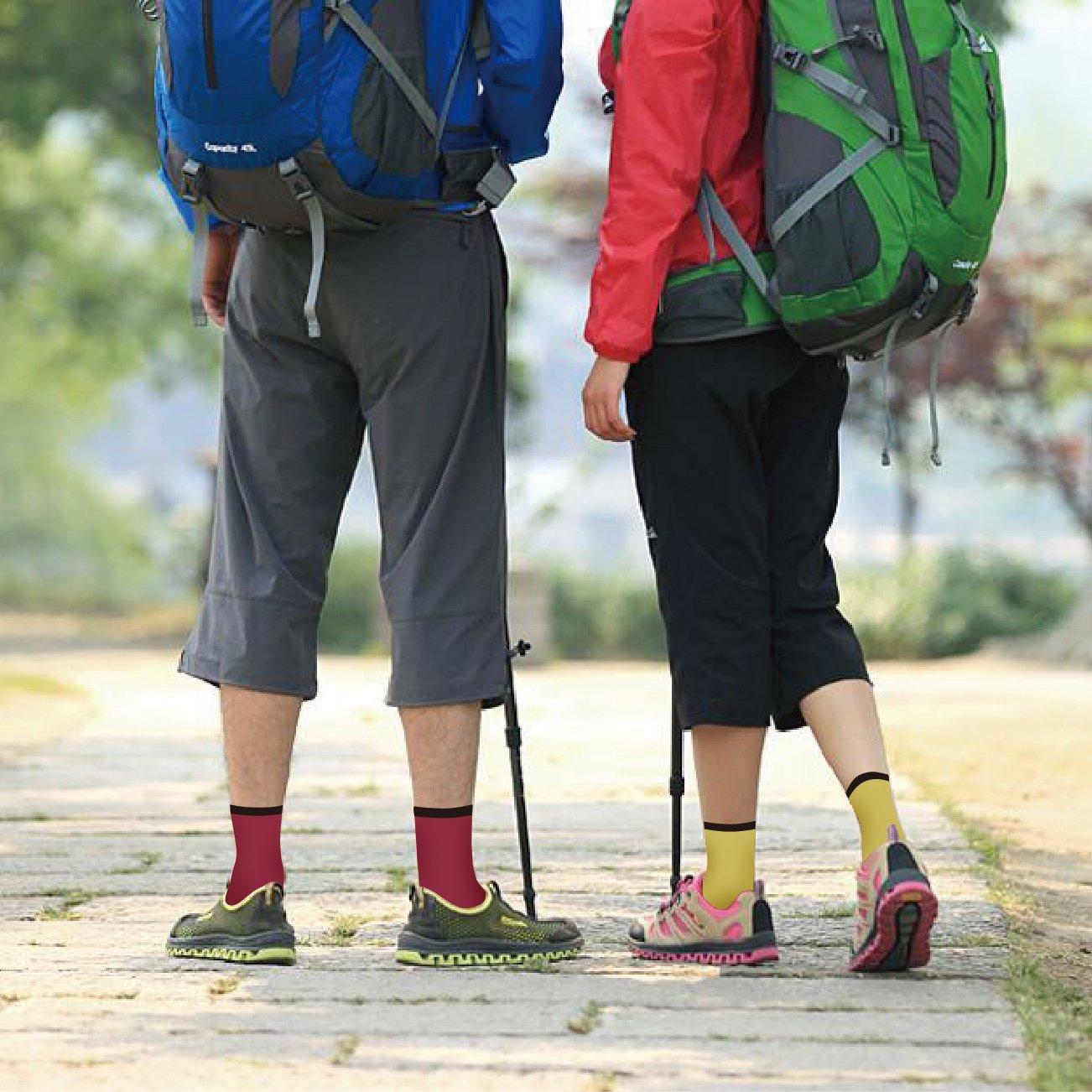 Outdoor Calze Yuedge Vesciche Paia Donna 5 Sport Wicking Anti A0xdwArq