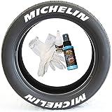 2 X Pirelli Sticker Vinyl Graphic Tyres P Zero Rosso Nero