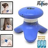Dr Physio Mini Full Body Hand Massager (Blue)