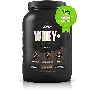 Legion Whey+ Protein Powder
