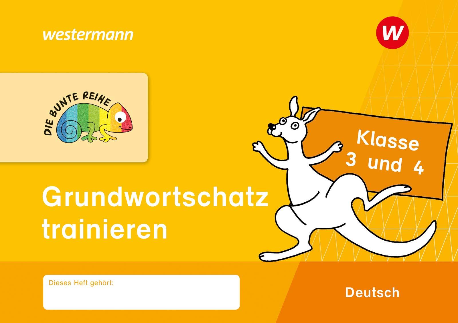 DIE BUNTE REIHE   Deutsch Grundwortschatz trainieren Klasse 20 und ...