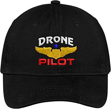 Spiffy Custom Gifts Mens Drone Pilot Embroidered Polo Shirt