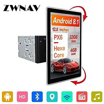 ZWNAV 12,8 Pulgadas Estereo De Coche para VW Benz, Android ...
