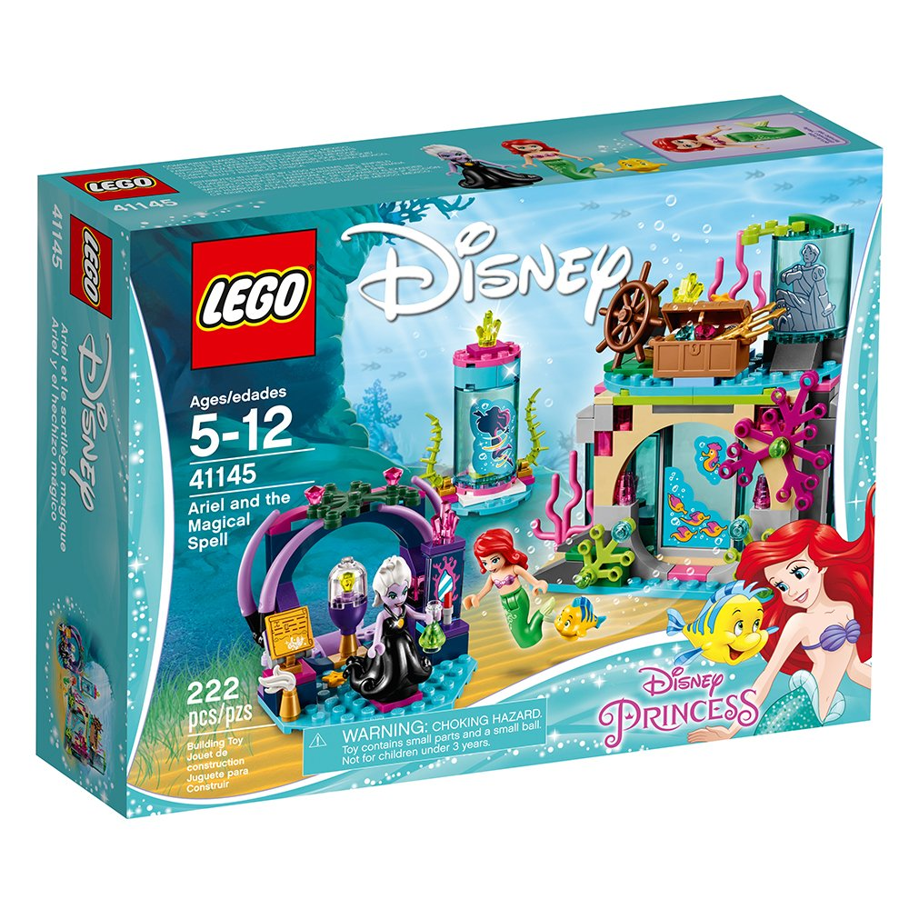 LEGO Disney Princess Ariel and The Magical Spell Building Kit 222 Piece