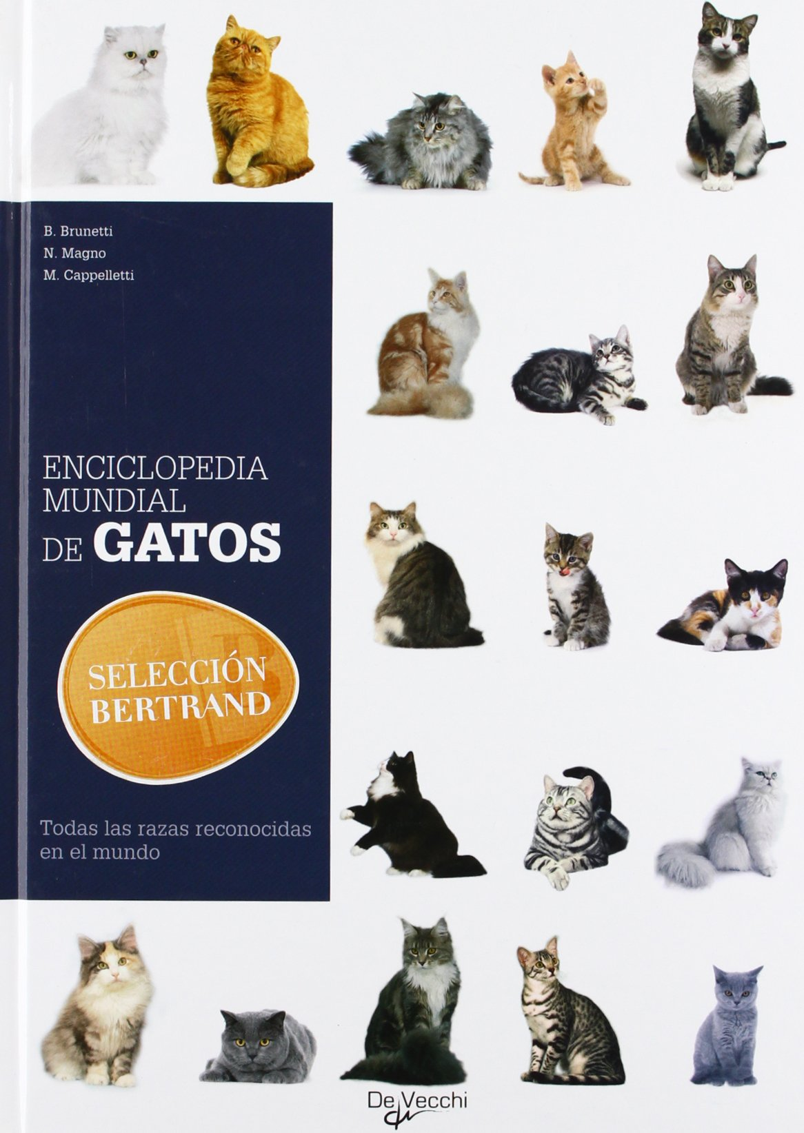 Enciclopedia mundial de gatos (Spanish Edition): B.Brunetti ...