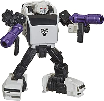 Transformers Generations War for Cybertron Jouet Transformable 2 en 1 Robot Deluxe Blackarachnia 14 cm