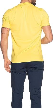 Emporio Armani EA7 Hombre Camiseta Giallo
