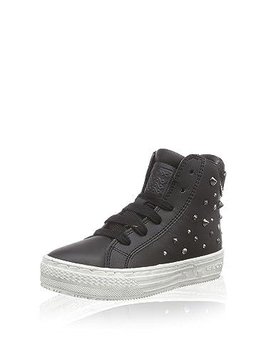 Geox J Highrock Sneaker in schwarz Baby & Kind Kinderschuhe