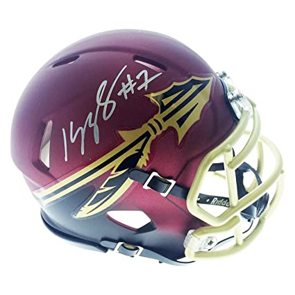 The Cheapest Price Kelvin Benjamin Autographed Seminoles Logo Football W/ Bcs Champs Football Jsa W Auth