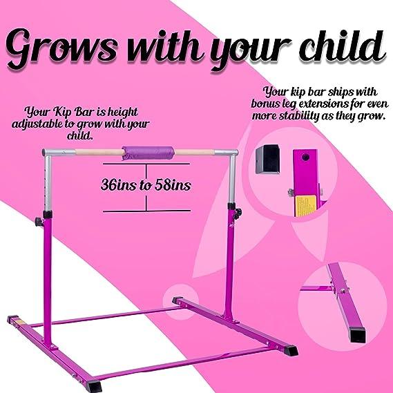 Amazon.com: Kip Bar Junior Gymnastics - Barra de gimnasia ...